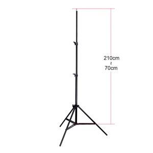 "Image 4 - Cymye 656 ""2 m Light Stand Tripod Photo Studio Accessoires Voor Softbox Foto Video Verlichting Flashgun Lampen/paraplu flash"