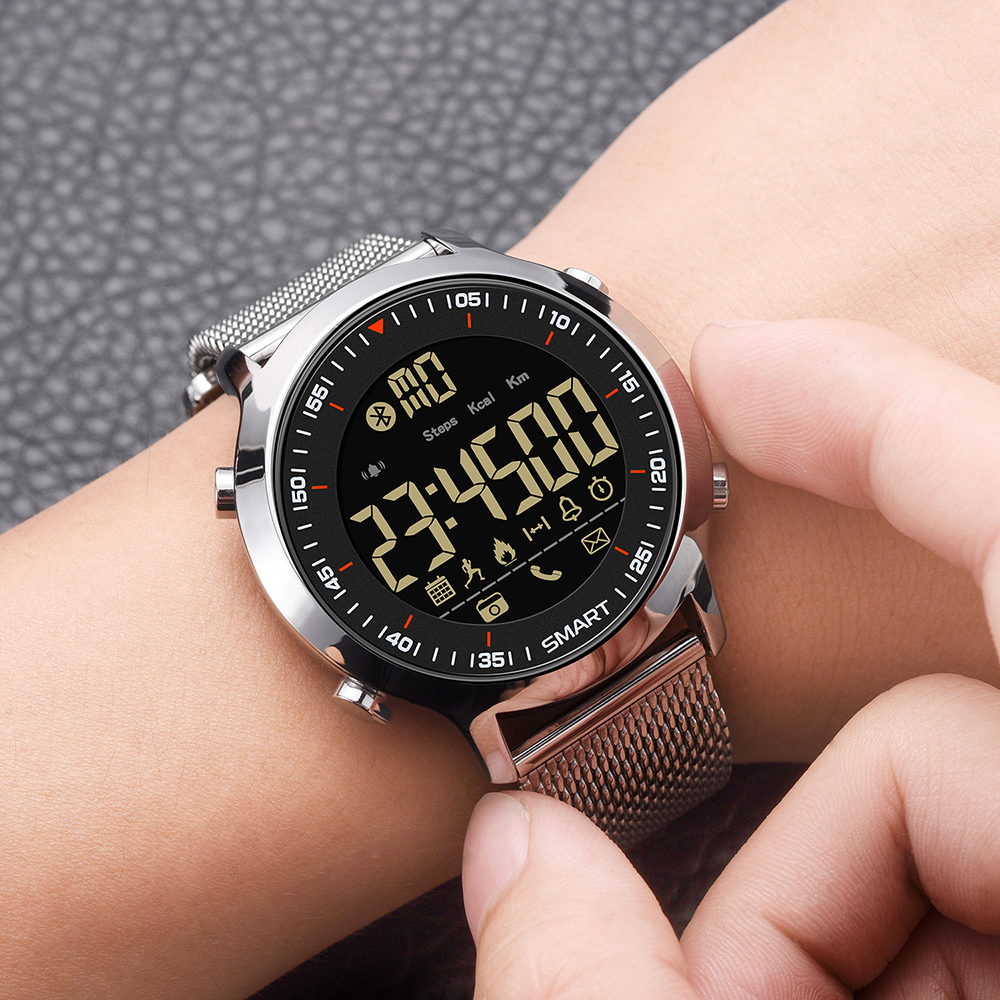 Bluetooth Clock Male Smart Watch 4