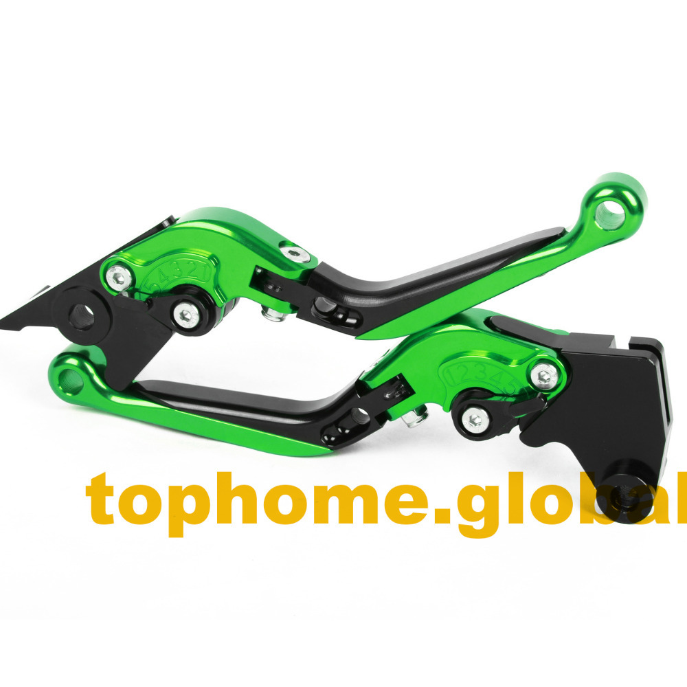 Motorbike Accessories CNC Foldable&Extendable Brake Clutch Levers For Kawasaki ZRX1100 / 1200 1999-2007 2000 2001 2002 billet alu folding adjustable brake clutch levers for motoguzzi griso 850 breva 1100 norge 1200 06 2013 07 08 1200 sport stelvio