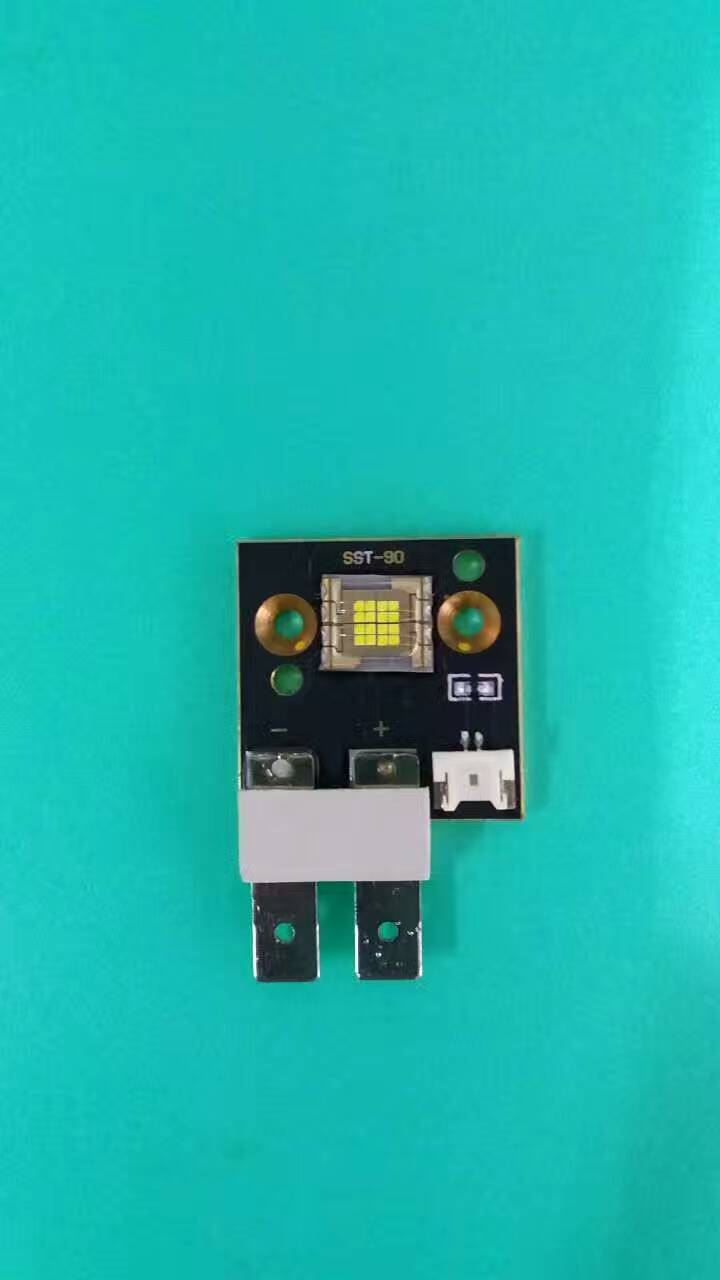 4PCS /lot SST-90 SSD90 High lumens 90w Led Chip 6500k 90w Led Module For Moving Head Light Brighter Than Phlatlight цена