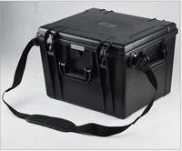 460x420x320mm ABS Alet çantası araç kutusu Darbeye dayanıklı mühürlü su geçirmez güvenlik kutusu ekipmanları kamera çantası önceden kesilmiş köpük