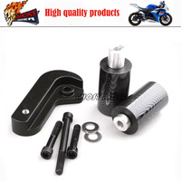 Motorcycle Racing No Cut Crash Pads Fairing Frame Protectors Slider Carbon Fiber Fit For 2006 2008 Suzuki GSXR 600 / 750