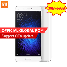 Original Xiaomi Mi5 Prime 3GB RAM 64GB ROM smartphone Mi 5 Snapdragon 820 3000mAh Dual SIM Card 4K Video Mobile Phones