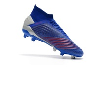 New Arrival ZUER Predator 18+ FG Soccer Shoes Mens 19+ Football Boots Free shipping
