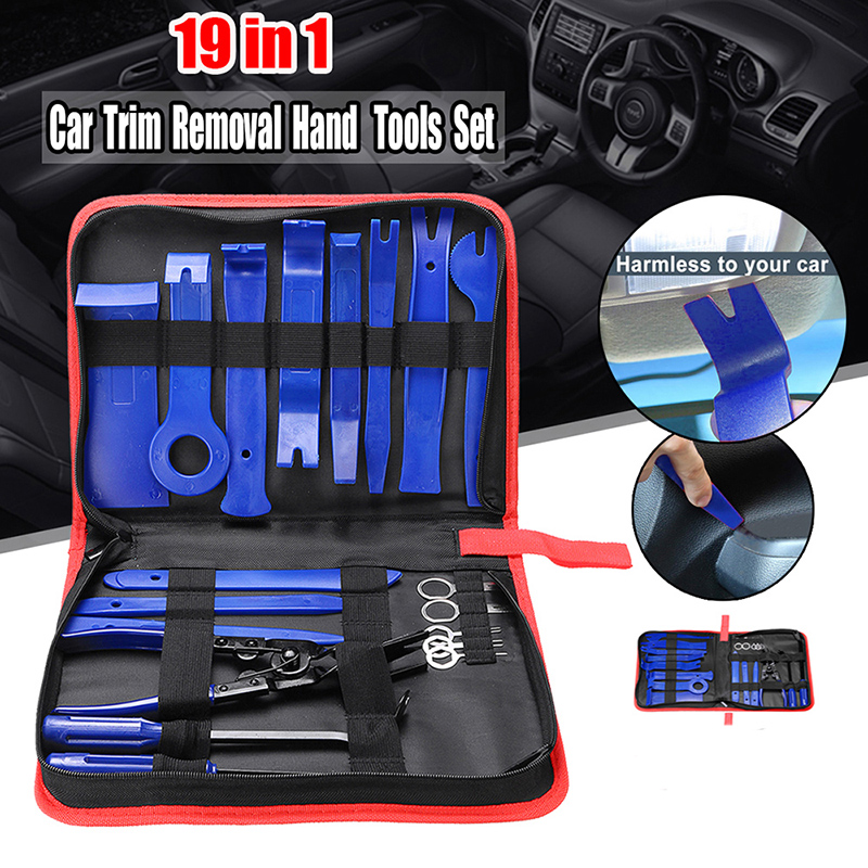 19pcs/set New Removal Tools Car Radios Dashboards Windows Repair Accessories Kits High Quality Suitable For Most Cars