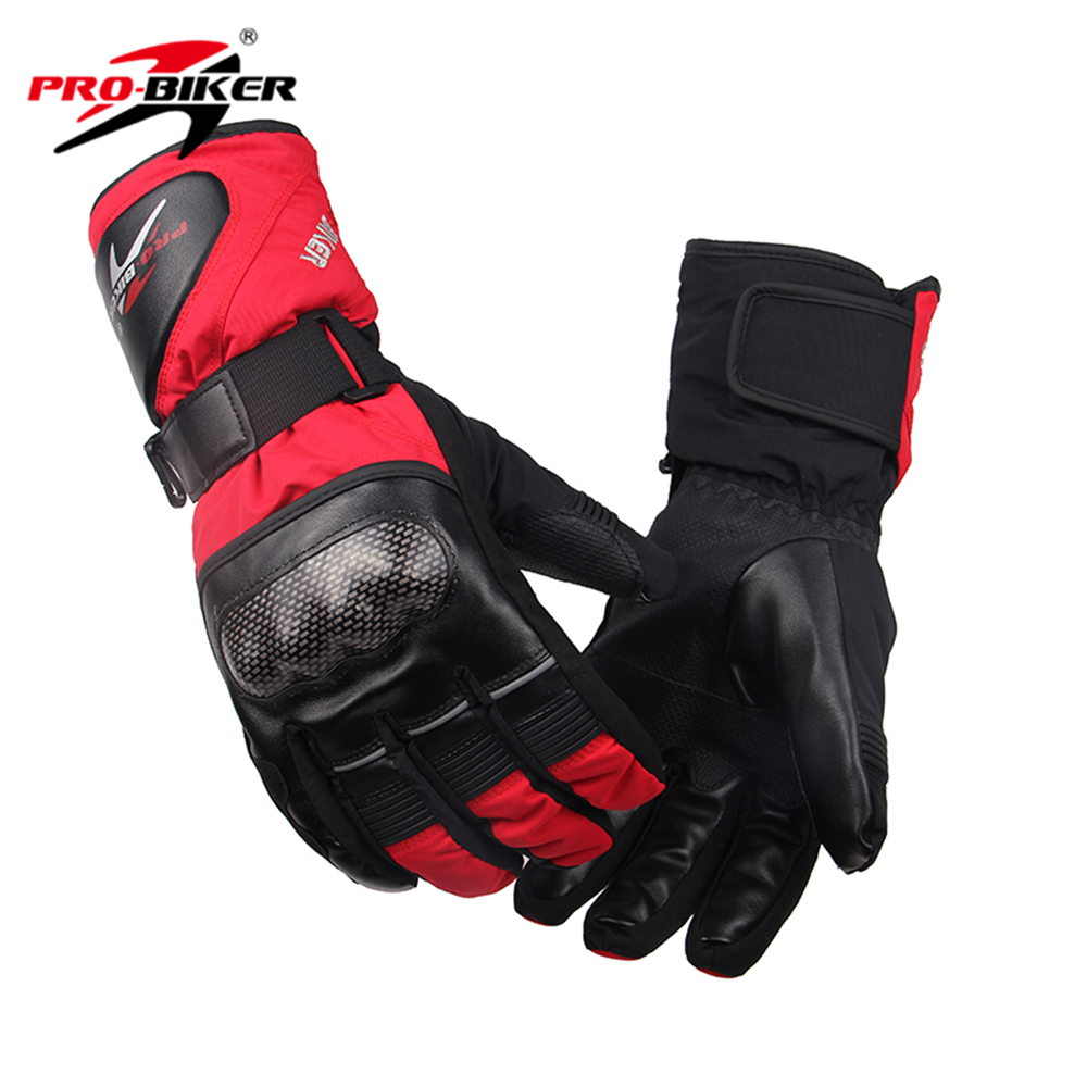 Motorcycle gloves discount - Pro Biker Ski Moto Gloves Outdoor Sports Warm Windproof Motorcycle Gloves Non Slip Motorbike
