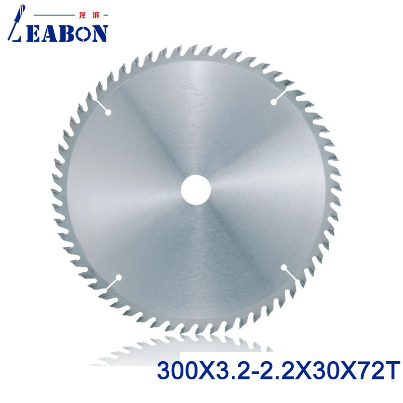 цена на 300mm (12) TCT Saw Blade 300*3.2*30*72T Woodworking Circular Saw Blade , Wood Cutting Tools