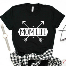 Women Casual T-shirt Mom Life Shirt Mommy shirt