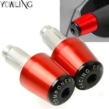 цена на 7/8'' 22 mm CNC motorcycle handlebar handle bar grips ends for Honda CBR954RR CBR 954 RR CBR 954RR CBR954Rr CBR954 RR 2002-2003