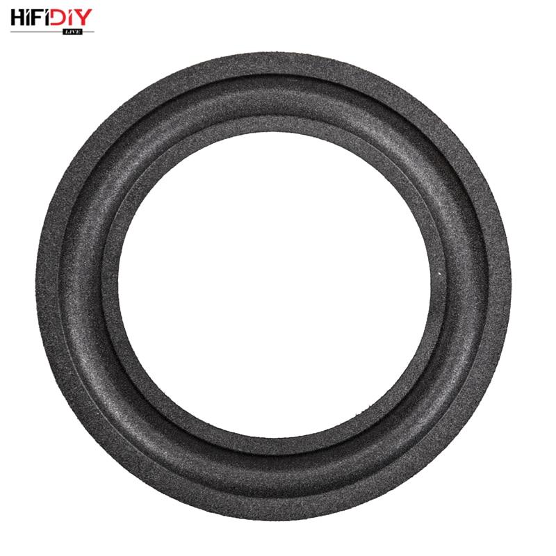 HIFIDIY EN DIRECTO/LIVE 2-12 pulgadas woofer altavoz reparación accesorios de piezas de espuma borde plegable anillo Subwoofer (50 ~ 290mm) 3 3,5 4 5 6,5 8 10