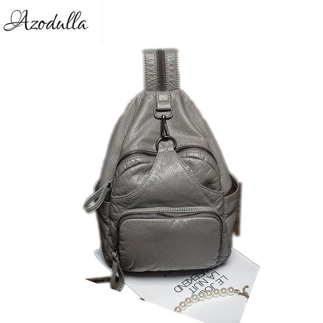 DDWB003 Brand Leather Schoolbag Female Backpacks Women Preppy Style High Quality Sweet Ladies Knapsack Beautiful Girl Backpack