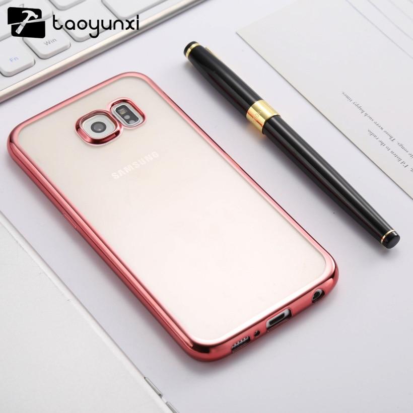 TAOYUNXI Case Soft TPU for Samsung Galaxy S6 Cover SVI G920F G920FD G920FQ G920I G920A G ...