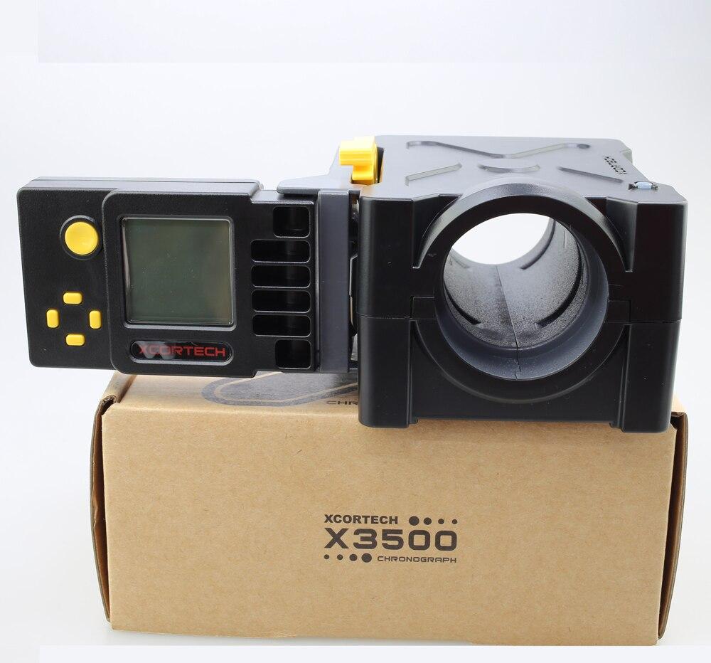 Тактический Скорость тестер X3500 мяч пулевой стрельбе хронограф высокотехнологичных Airsoft Пейнтбол боевые игры