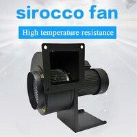 CY133H resistente de Alta temperatura do ventilador ventiladores industriais centrífugos ventilador siroco ventilador lareira sotve pelota caldeira exaustor 220 V|Exaustores|Eletrodomésticos -