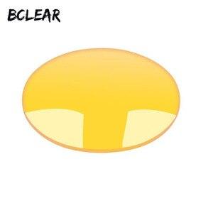 Image 1 - BCLEAR 1.49 ראיית לילה מקוטב צהוב קוצר ראייה עדשת נהג בטוח נהיגה מיוחד עדשה מותאם אישית מרשם diopter עדשות