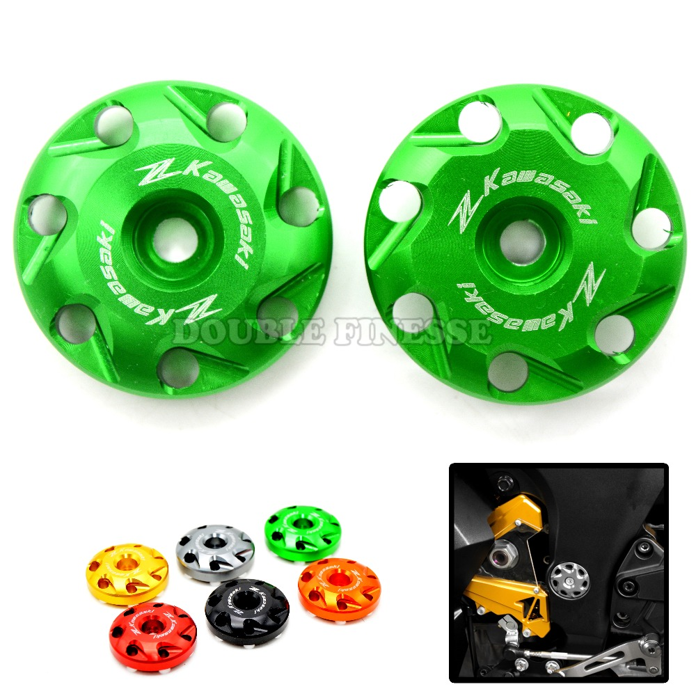 Motorcycle Accessories Ornamental Frame Hole Cap Cover Plug KAWASAKI Z1000 2010 2011 2012 2013 2014 SX 12 13 14 - RUNNING MOTORCYCLE store