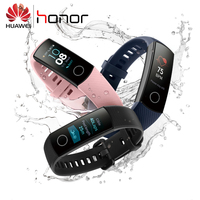 Original Huawei Honor Band 4 Smart Wristband Amoled Color 0.95 Touchscreen Swim Posture Detect Heart Rate Sleep Snap