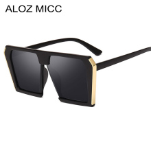 ALOZ MICC Women Oversized Square Sunglasses Men 2019 Brand Designer Fashion Sun Glasses Vintage Shades UV400 Q169
