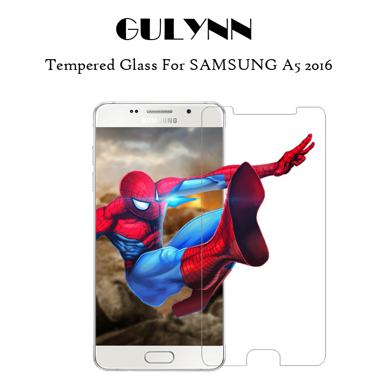 9H 0.3mm Tempered Glass for Samsung Galaxy A3 A5 A7 2017 Screen Protector Film For Samsu ...
