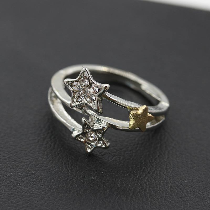 wedding made engagement for ring young meteor from meteorite modern rings