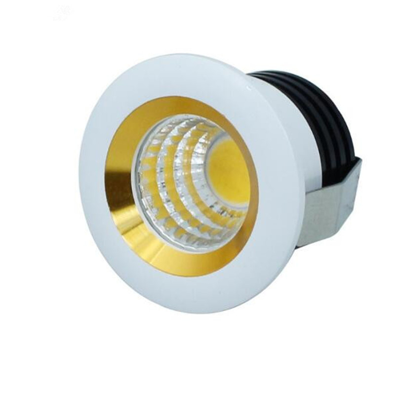 Free shipping 6pcs 3W COB Led Downlight Mini Led Cabinet Lamps Dimmable Led Spot Ceiling Recessed Downlight With Led Driver