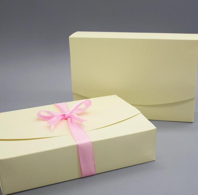 15pcs/lot yellow goodies cake Sets Display Box Cardboard candy snack ...