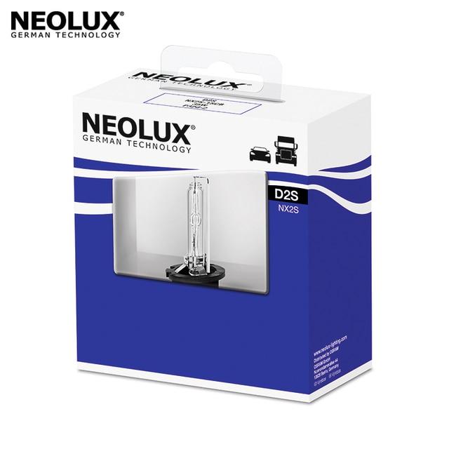 Ксеноновая лампа Neolux NX3S-1SCB цвет теплый белый D2S 85В 35Вт 4250K срок службы 2000 часов (1 шт)