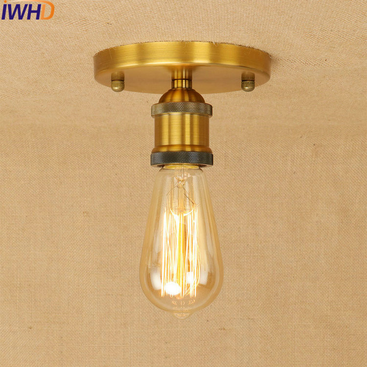 Industrial Vintage Ceiling Lights Lamparas De Techo Retro Ceiling Lamp Fixtures Home Lighting