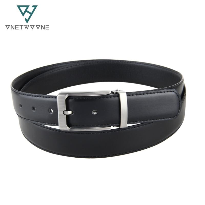 Good quality genuine leather man belts cow leather mens business belts big size adjustable Mens hole belt 130 135cm black straps