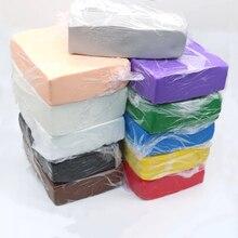 1 кг Professional Polymer Clay Oven-bake мягкая глина для BJD OB11 кукла самодельный макет Фигурное изготовление