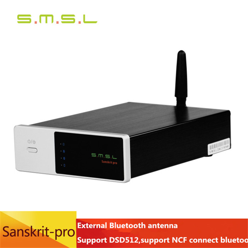 2016 New SMSL Sanskrit PRO B Hifi Digital Audio Bluetooth 4 0 Decoder 32Bit 384Khz DSD