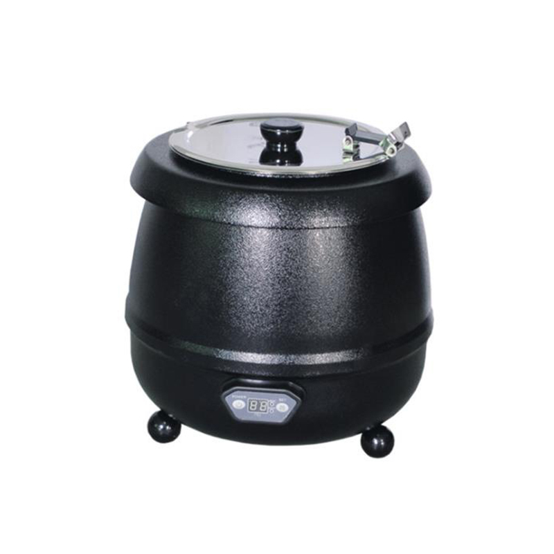 Electric Soup Warmer 10L Capacity Warming Container for Soup/Soymilk/Congee Commercial Food Insulation Furnace SB-6000LElectric Soup Warmer 10L Capacity Warming Container for Soup/Soymilk/Congee Commercial Food Insulation Furnace SB-6000L