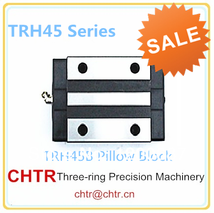 45mm Linear Guideway Pillow Block,Linear Guide Support Carriage TRH45B=HGH45CA linear transmission pillow block linear guide support carriage trh30b