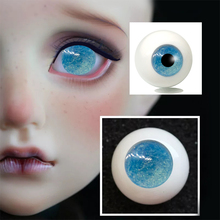 1 Pair DIY Acrylic BJD Eyes color changing blue gradient starry 14mm 16mm 18mm 20mm 22mm painting sd BJD Eyes 1/3 1/4 1/6 doll [wamami] 701 3pc blue flower clothes dress suit 1 6 sd dz bjd dollfie