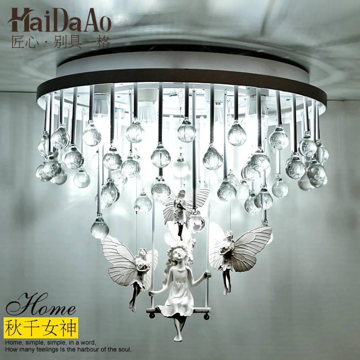 style crystal ceiling light simple atmosphere of the bedroom warm living room dining room balcony living room lighting fluid mechanics of the atmosphere 47