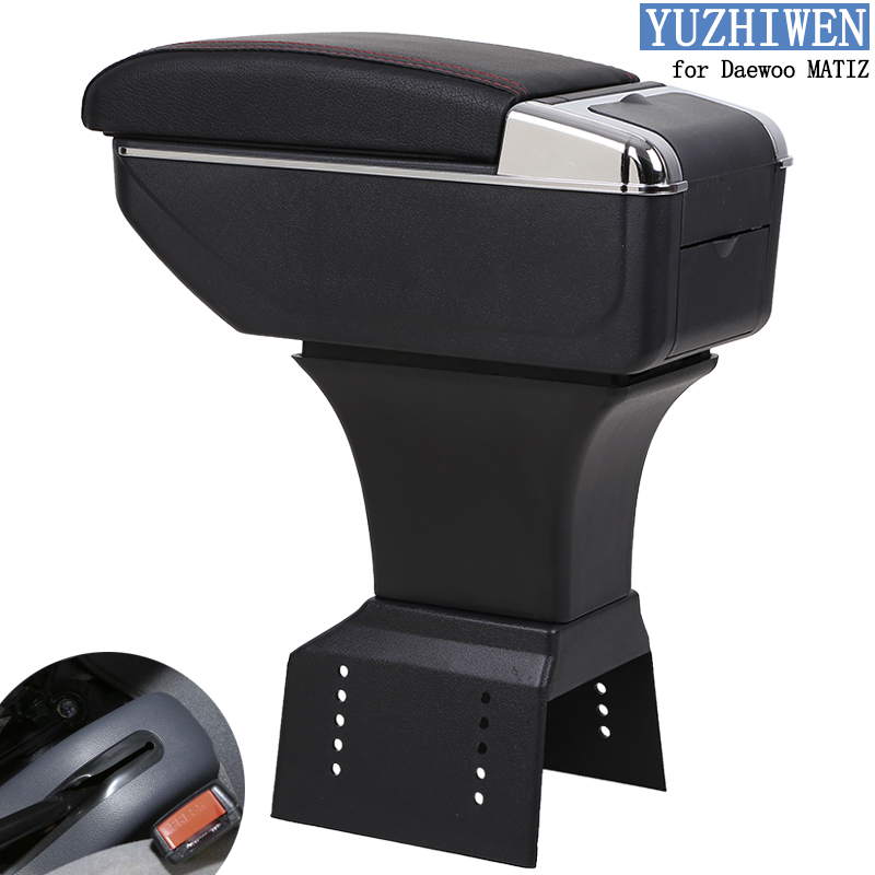 YUZHIWEN for Daewoo MATIZ armrest box Daewoo MATIZ I central Store content box 2006 2012 Automotive