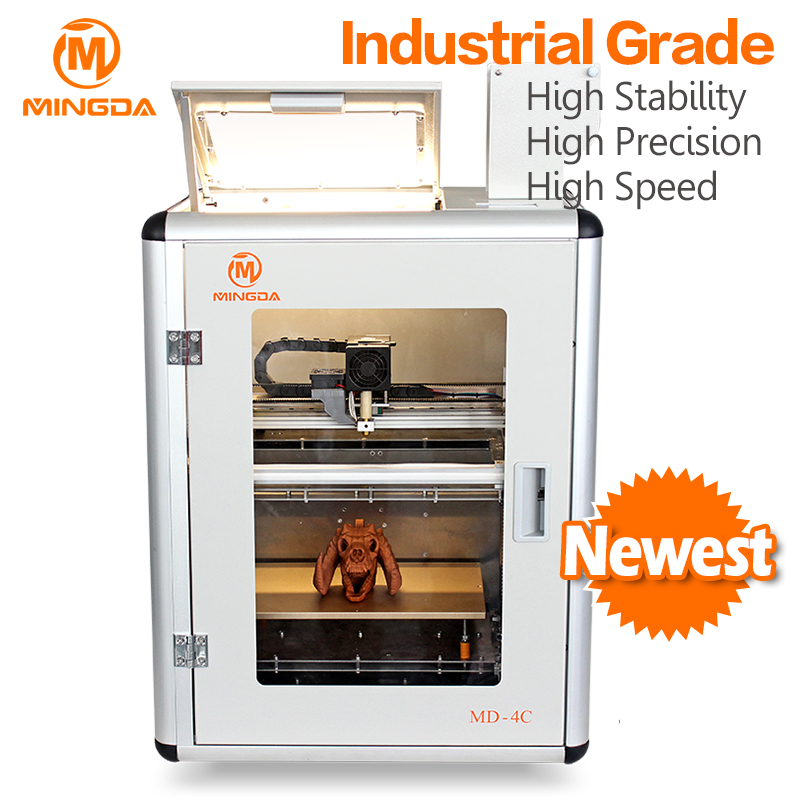 High Precision Desktop FDM 3D Printer Machine , Best Quality printer 3d , ABS 3d printing machine for sale