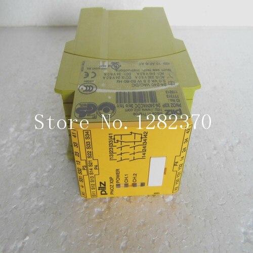 Original PILZ safety relays PNOZ X3P 24-240VACDC 3n / o 1n / c 777313