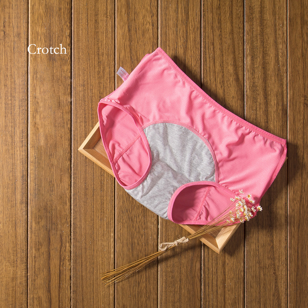 3pcs/Set Menstrual Panties Women Sexy Pants Leak Proof Incontinence Underwear Period Proof Cotton Briefs High Waist Warm Female