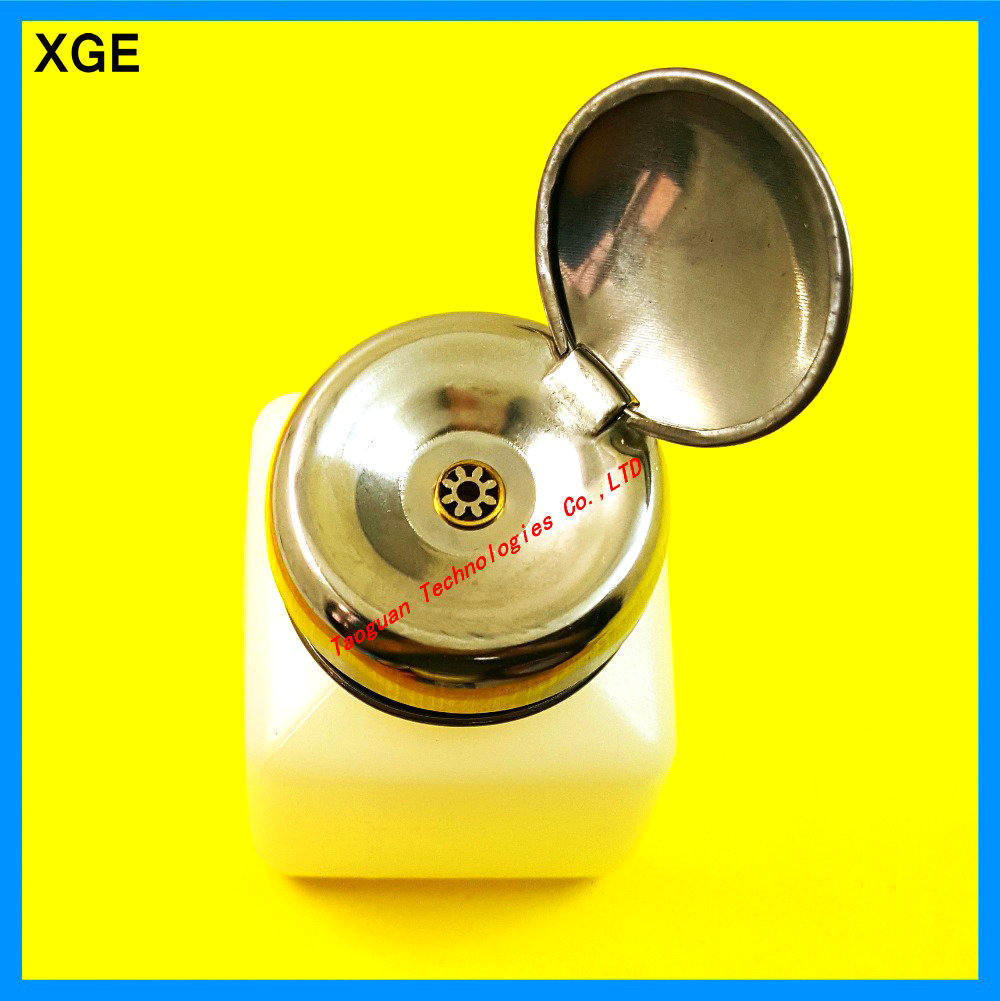 XGE 100ML component pot bottle with push button for alcohol spirit water for cleaning panel mobile <font><b>phones</b></font> Repair <font><b>essential</b></font> tools