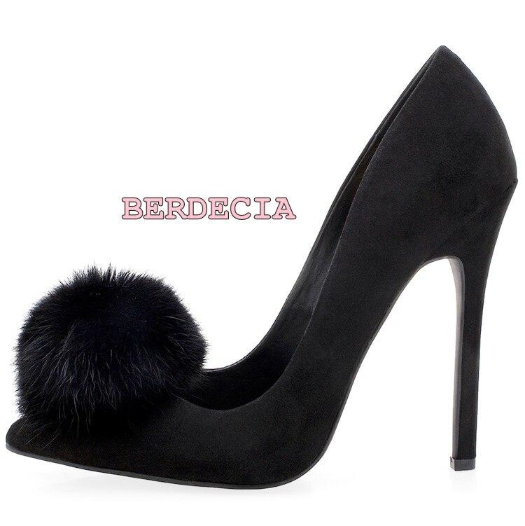 Women spring summer exquisite black huzzle pointed toe pumps suede shallow cut high heel shoes unique design elegant party shoes elegant women s pumps with suede and slingback design