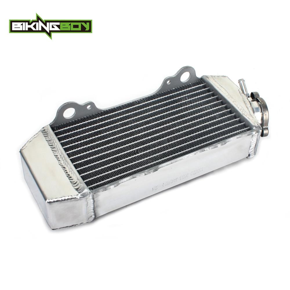 BIKINGBOY Motorcycle Aluminium Core Engine Radiator Water Cooling Cooler for YAMAHA YZ85 YZ 85 02-14 13 12 11 10 09 08 07 06 05