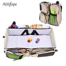 Дорожная детская кровать переносная люлька пеленка сумка пеленальная станция дорожная кроватка кровать для младенцев многофункциональная люлька