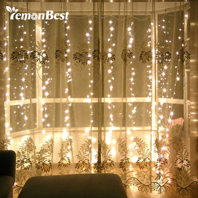 33m 300 led curtain light fairy christmas decorations for home party wedding outdoor - Led Christmas Decorations Indoor