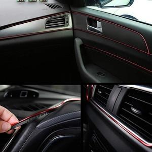Image 3 - Universal 5Mรถตกแต่งภายในTrimจัดแต่งทรงผมDIYประตูDashboard Edge