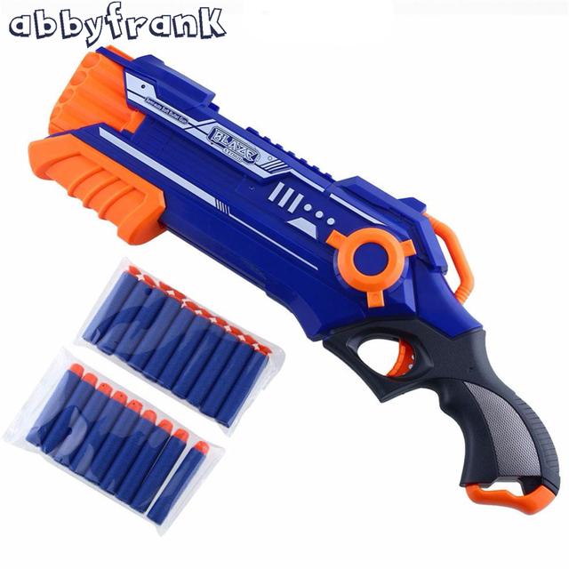 Abbyfrank Plastic Toy Gun Pistol Gun Sniper Rifle Orbeez Arme Blaster With 12 Darts Arma Kids Toys For Children Birthday Gifts