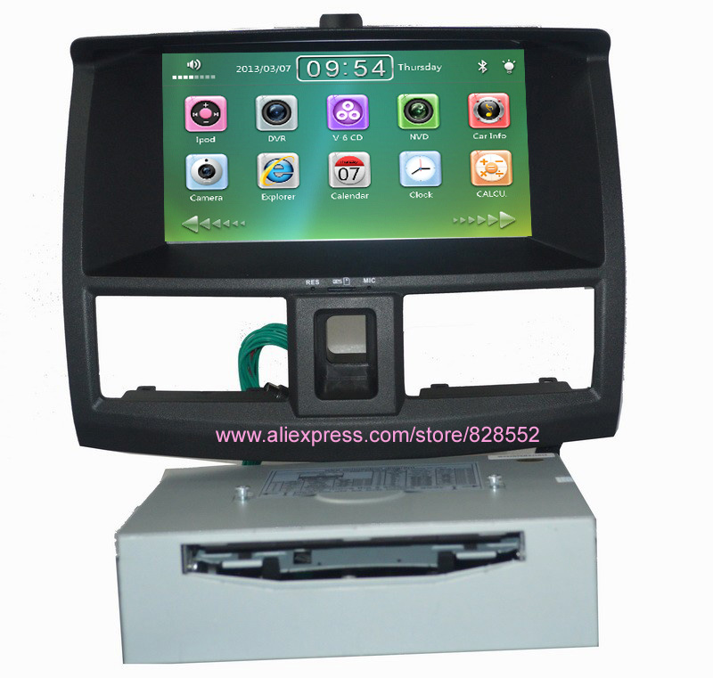 free shinpping Car DVD Player For Lifan 720 With GPS BT GPS RADIO