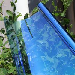 21cm x 29.7cm (A4 Size) Chameleon Effect Car Window Tint VLT55% Solar Tint Nano Ceramic Film for Car Side/Rear Windshield