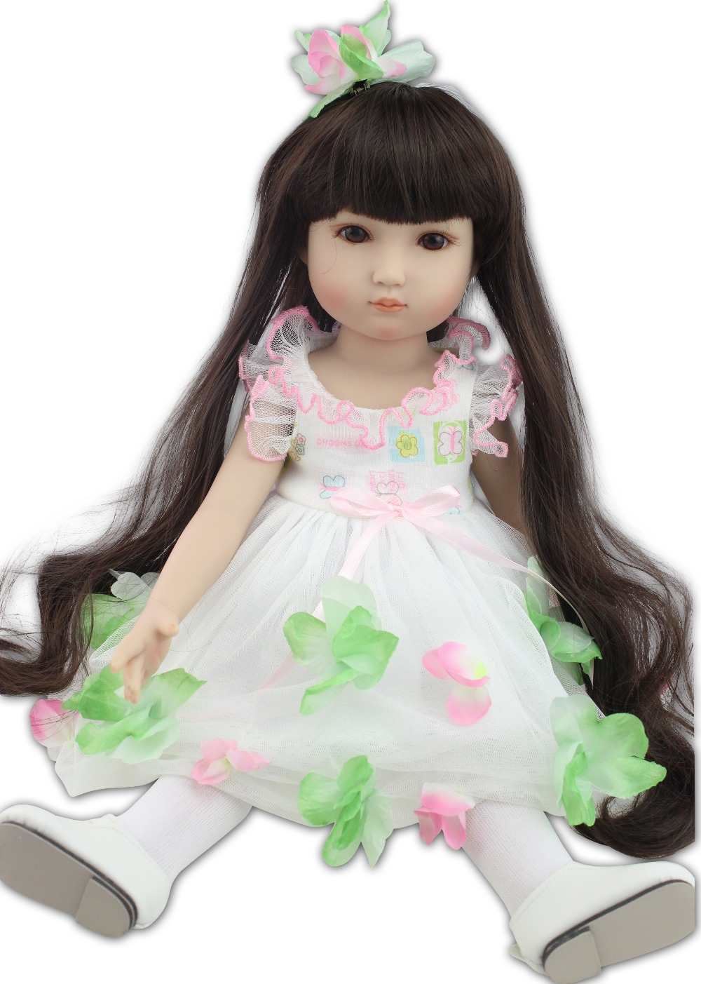New design most popular 18inches fashion play doll education toy for girls birthday Gift industrial design education