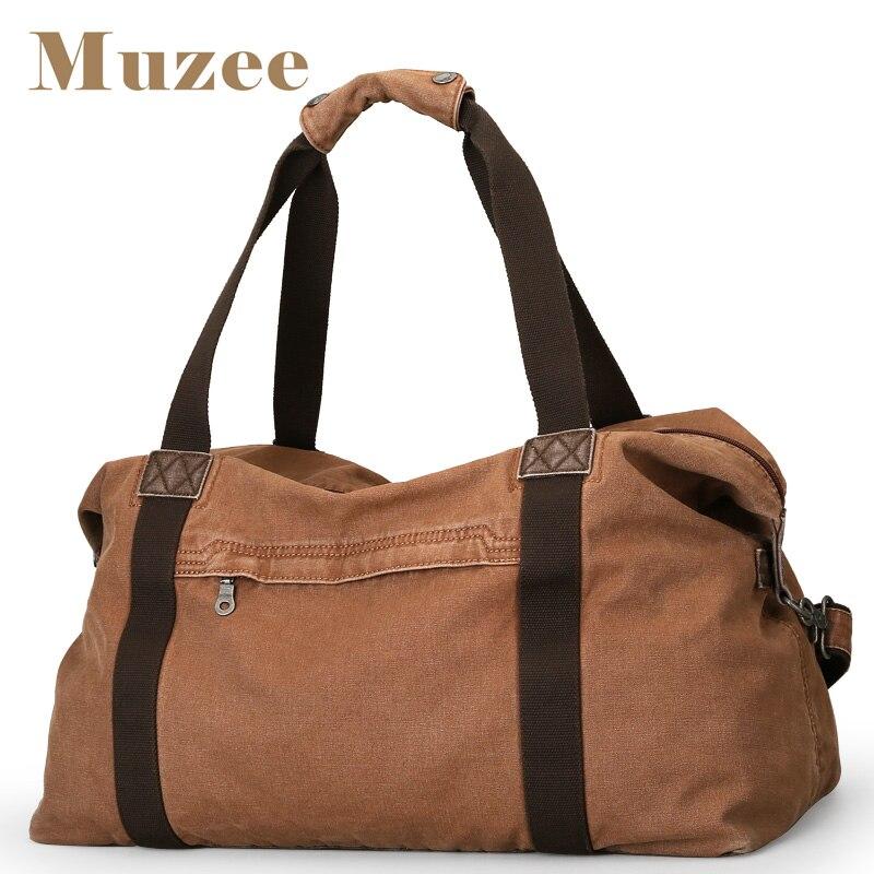 MUZEE nouveau sac en toile sac de voyage de mode pour hommes sac à main de grande capacité pour voyage court sac à bandoulière en toile